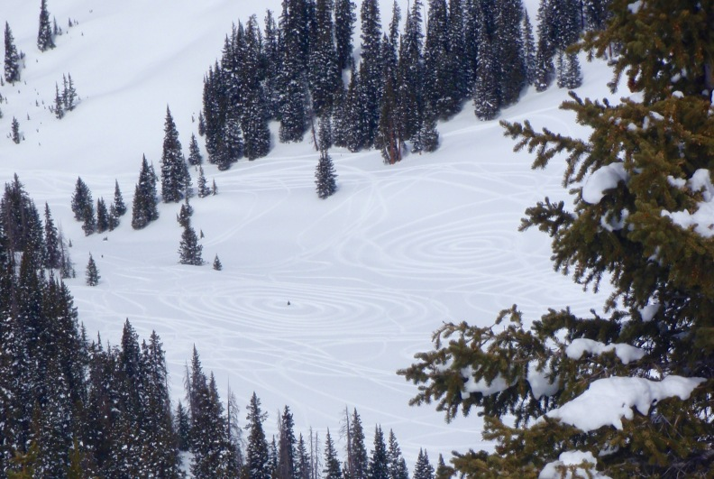 Ring around the rosey... the slednecks had way too much fun down there.