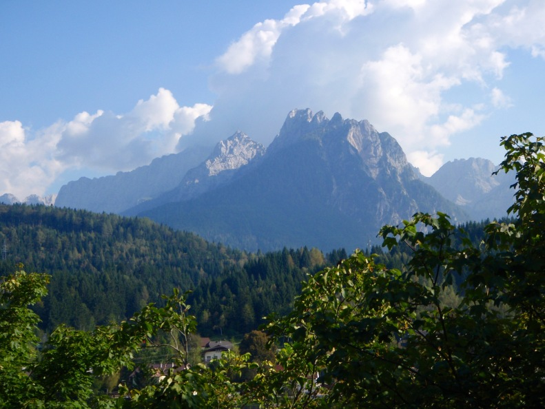 Back in the mountains for this mountain gal! This time, it's the Julian Alps.