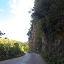 Gorgeous stuff, this road -- especially since it's not steep... yet.