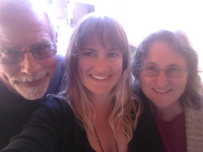 Meeting up with mom and dad in Phoenix, Arizona.