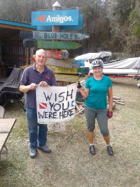 And meeting the awesome guys at Amigo's dive shop, thanks again Priscilla!