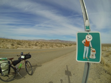 Heading into the agricultural desert in California's Imperial Valley.