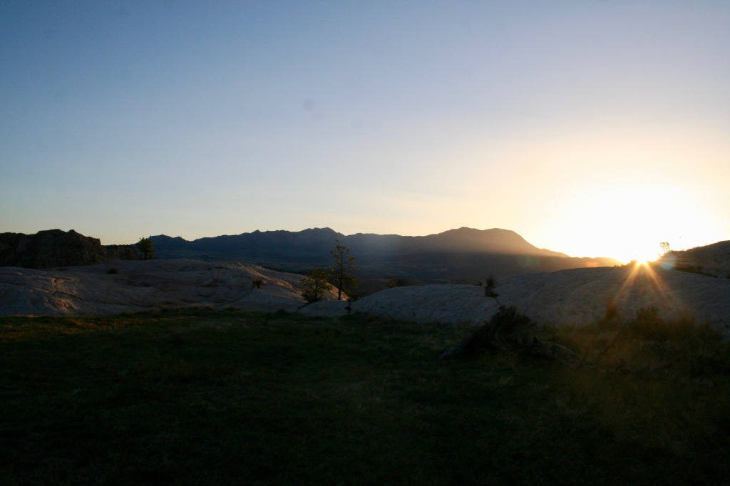 Sunrise in Red Mountain Wilderness